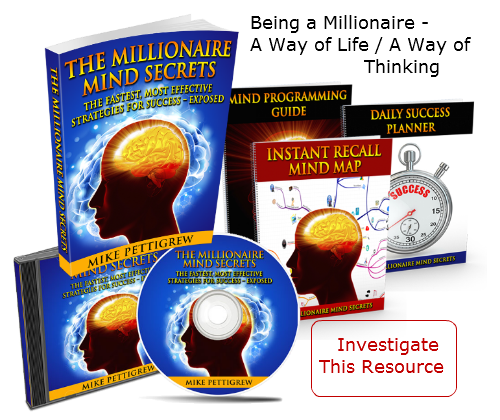 Read my Millionaire Mind Secrets review which offers a roadmap towards wealth by reprogramming the subconscious and eliminating self-imposed obstacles